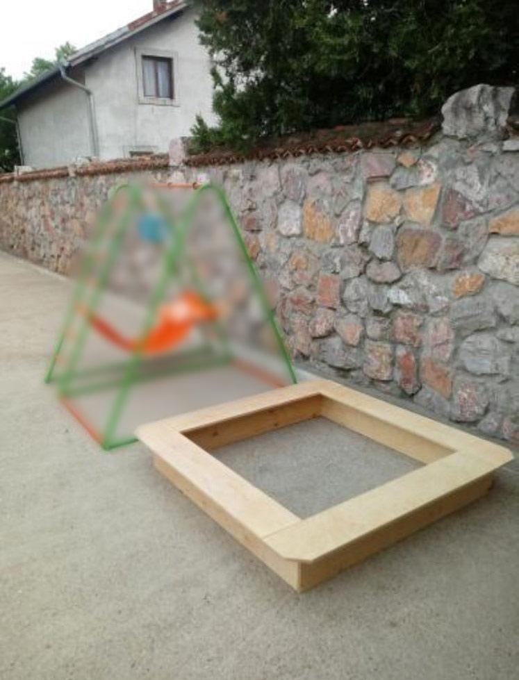 kutija za pesak za decu