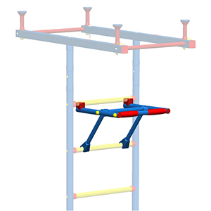Additional equipment for kids' climbing frames